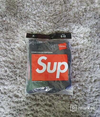 Supreme Hanes Socks