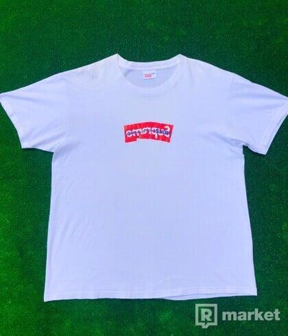 Supreme Comme Des Garcons Shirt Box Logo Tee