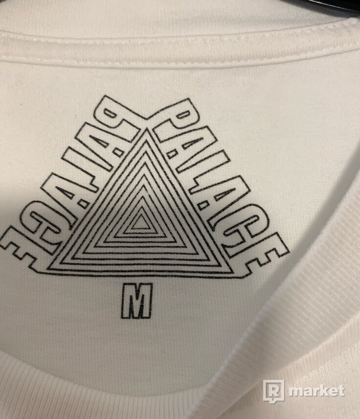Palace Euro T-Shirt White