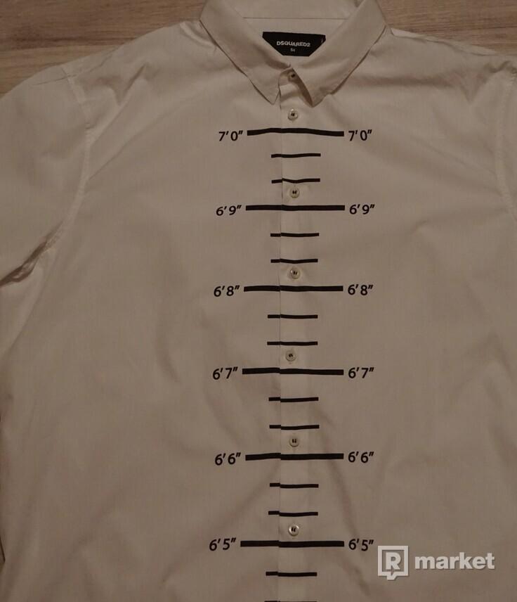 Dsquared2-pánska košeľa