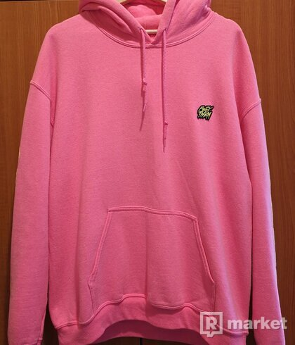 F*CK THEM NO WORDS NEEDED NEON PINK HOODIE