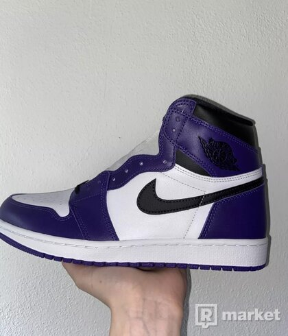 Jordan 1 High Court Purple