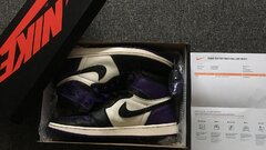 AJ1 court purple 46