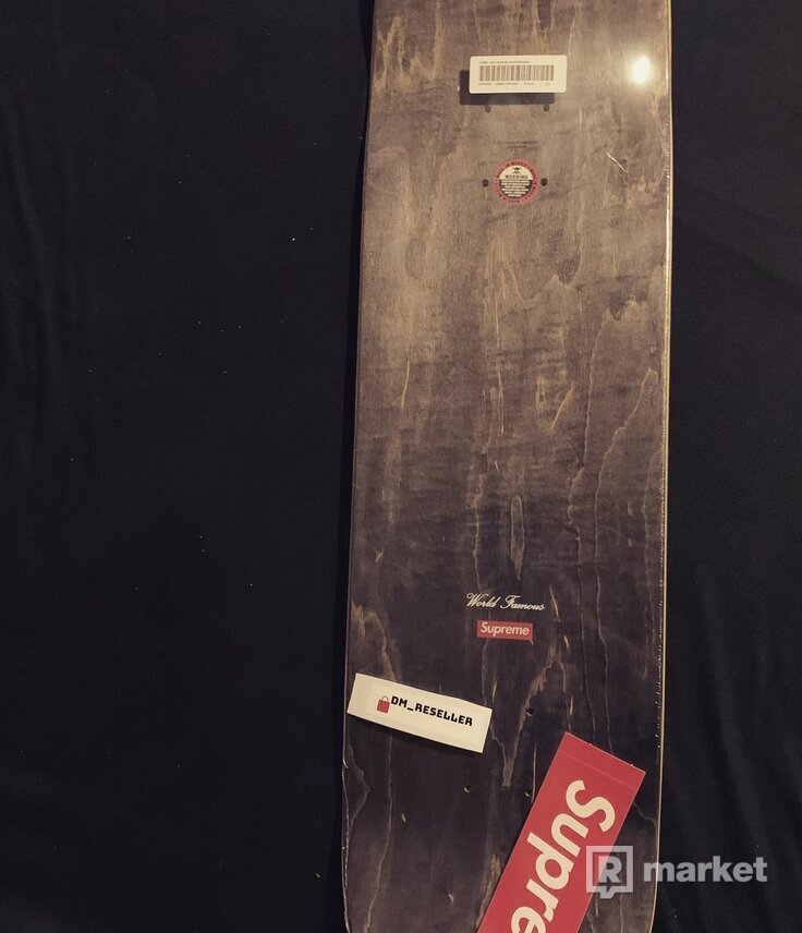 Supreme Tupac Skateboard Deck