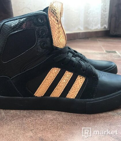 Adidas BB NEO black/gold-red