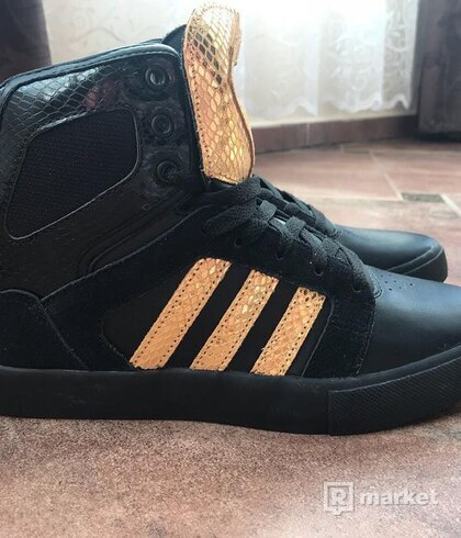 Adidas BB NEO black/gold-red