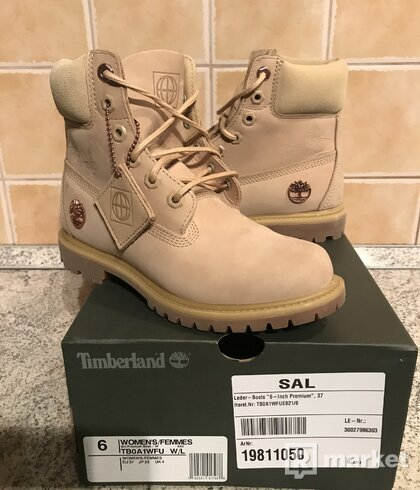 Timberland Leder-Boots 6- Inch Premium