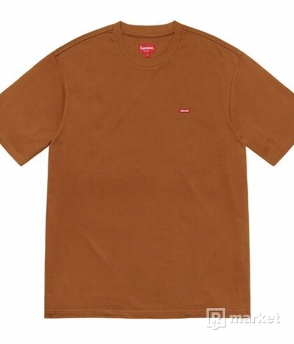 Supreme Small Box Logo Tee Rust