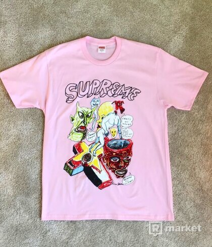 Supreme Daniel Johnston tee