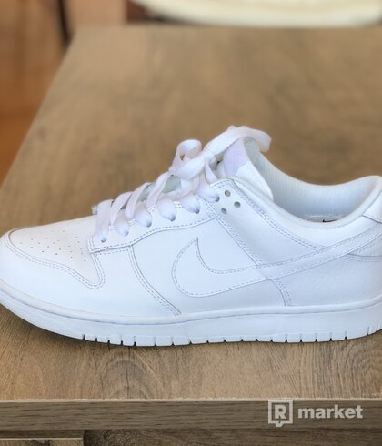 Nike Dunk Low White/White-White