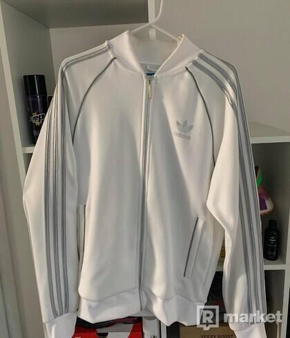 Adidas originals mikina biela