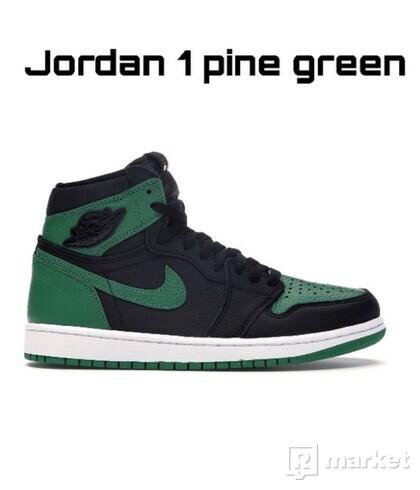 Jordan 1 pine green ( 2020 )