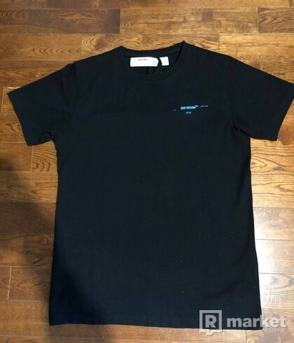 Off White Gradient Tee