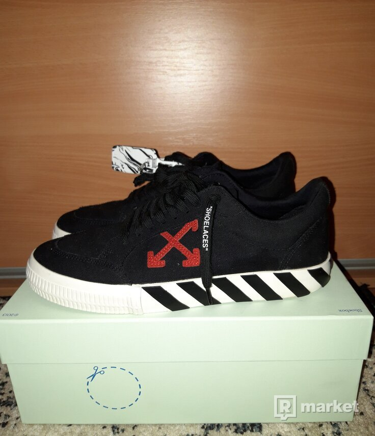 Off White Vulcanized Shoes