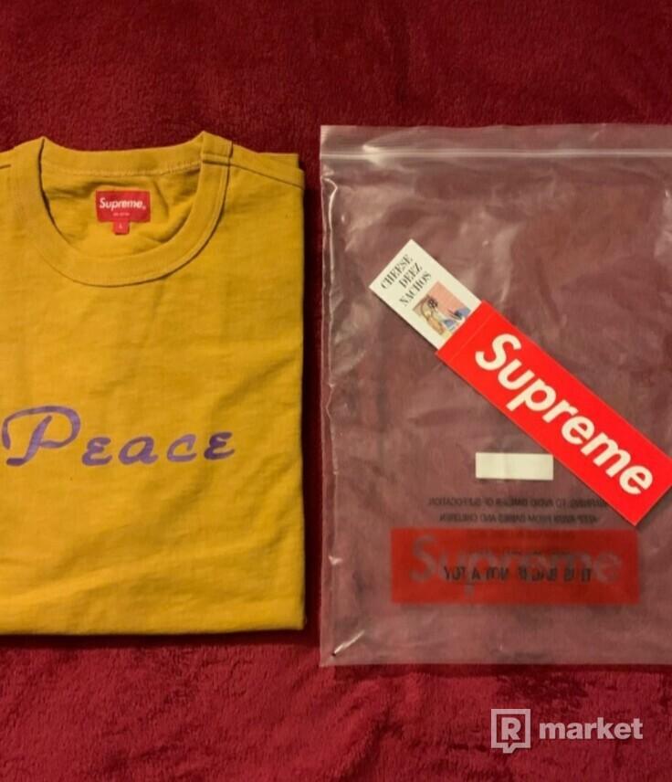 Supreme Tričko : Peace