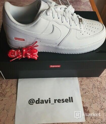 Predam Nike Supreme Air Force 1 White