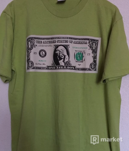 Supreme Zillion Dollars tee