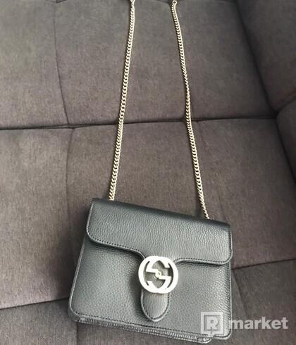 Gucci kožená kabelka