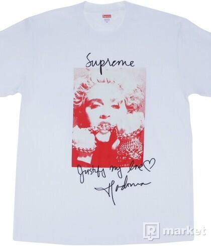 Supreme Madonna Tee White