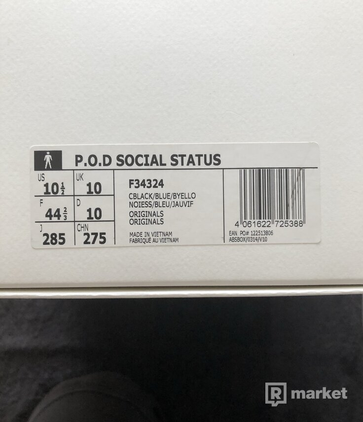 Social Status x Adidas Consortium  POD-S 3.1 + Adidas Originals Trefoil logo hoodie