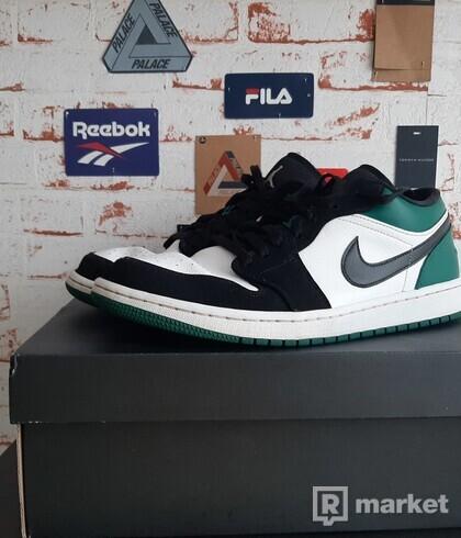 Nike Air Jordan 1 low mystic green