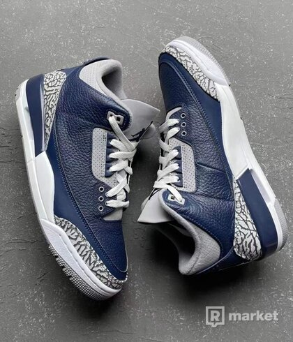Jordan 3 Retro Georgetown