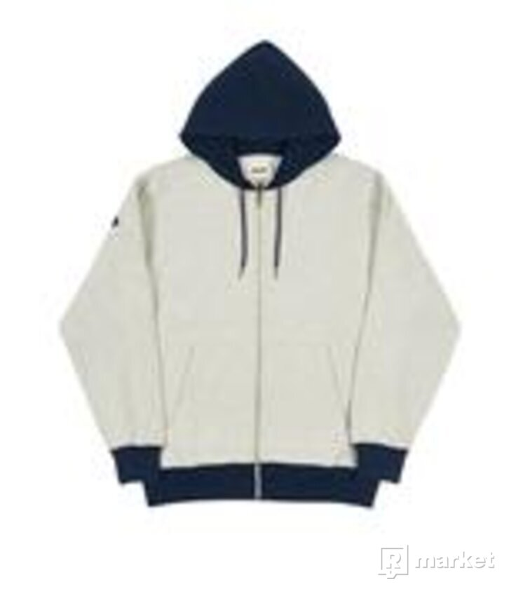 Palace border hoodie navy xl