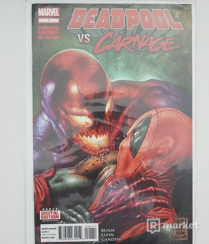Deadpool vs. Carnage 1.