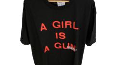 Pleasures A Girl Is A Gun Black