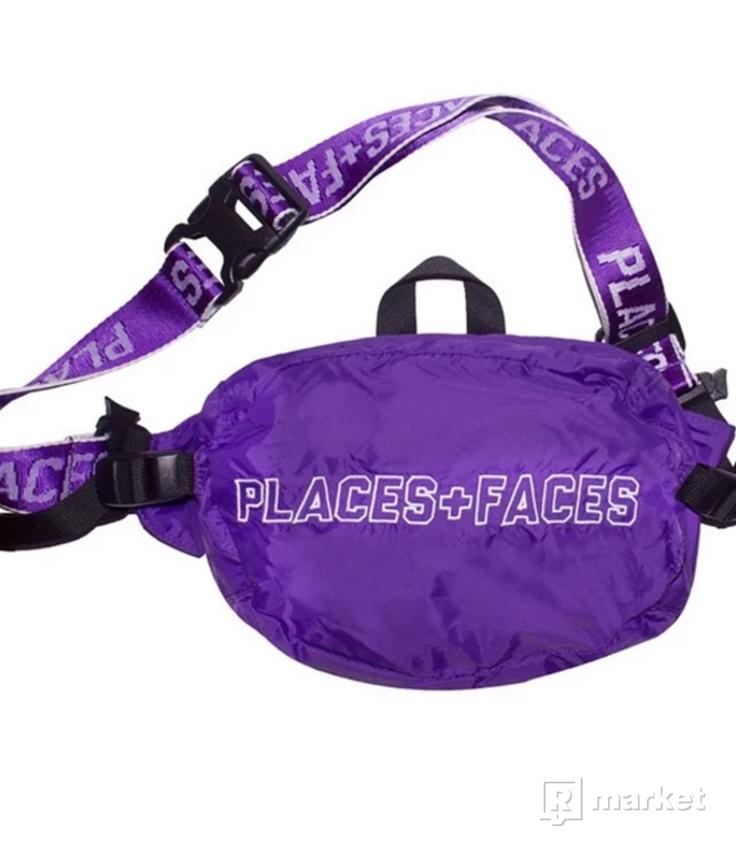 Places + Faces waist bag purple