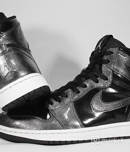 "Air Jordan Retro 1 High ""Black Patent"" 2016"