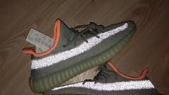 adidas Yeezy Boost 350 V2 Dessag/ Dessag/ Dessag - size : 11, Colour : Green
