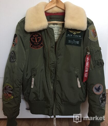 Alpha Industries Injector III Patch / Sage Green