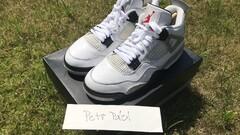 Air Jordan 4 White Cement OG