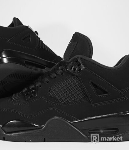 "Air Jordan Retro 4 ""Black Cat"" GS"