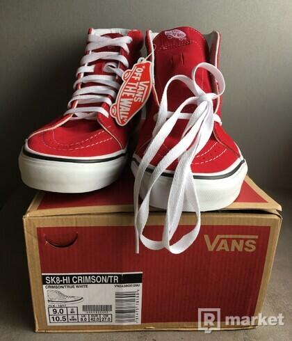 Vans SK8-Hi Crimson