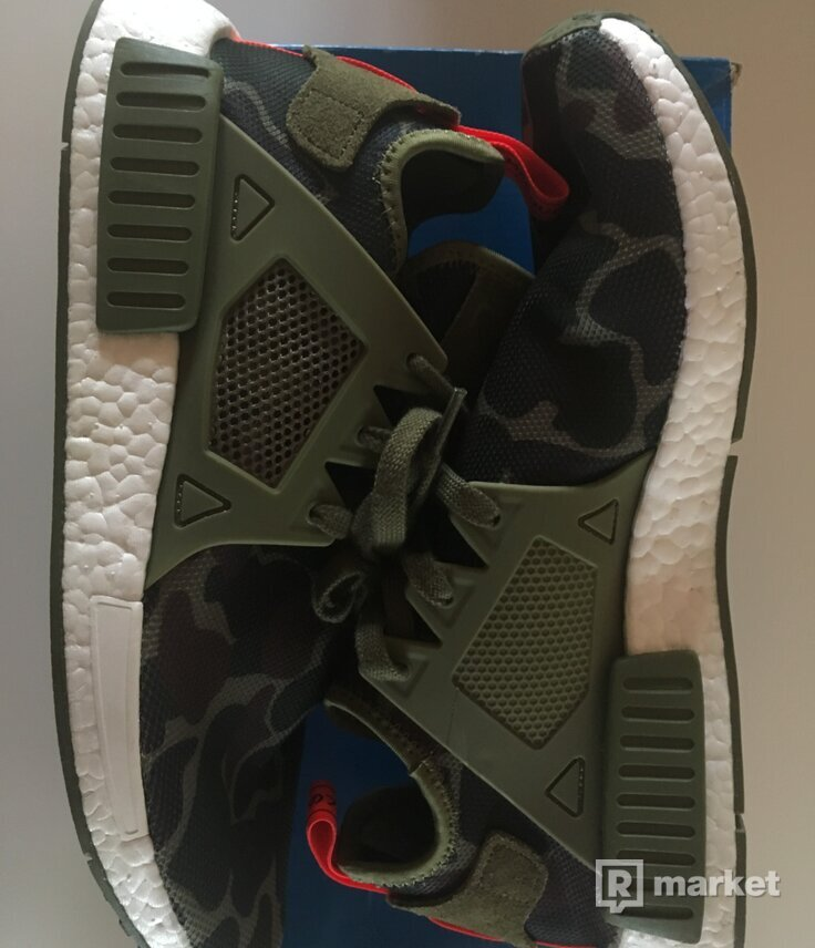 NMD XR1 GREEN CAMO