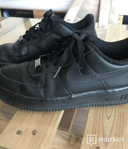 Nike Air Force 1 low čierne