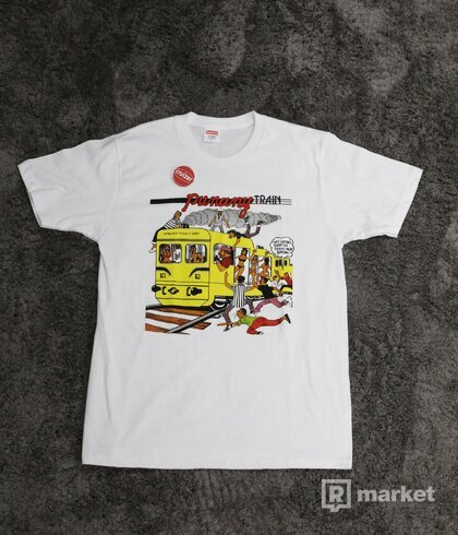 Supreme Wilfred Limonious Punany Train Tee White