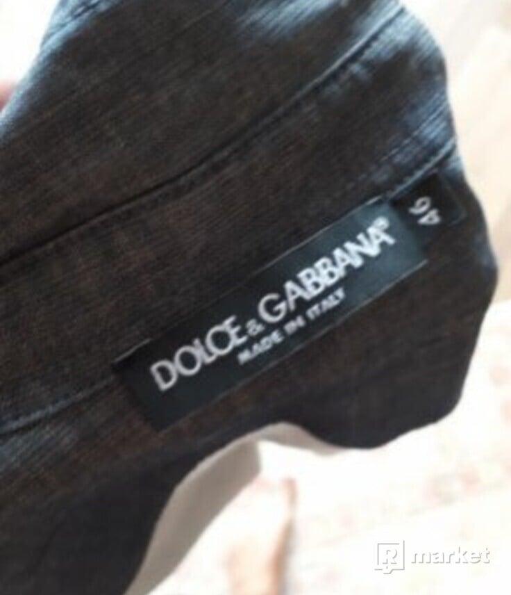 DOLCE & GABBANA - pánska košela