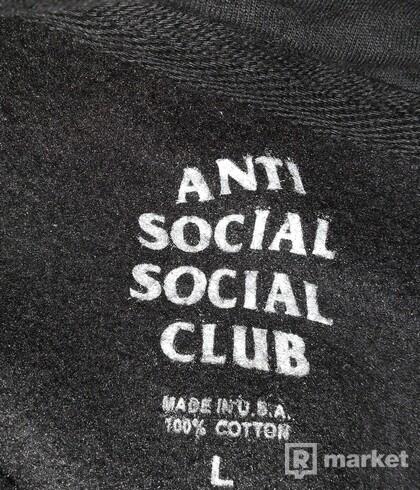 assc hoodie black