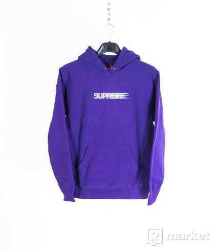 Motion Logo Hooded Sweatshirt