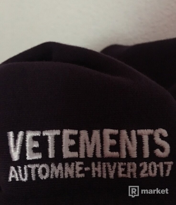 Vetements Sexual Fantasies Pour Homme