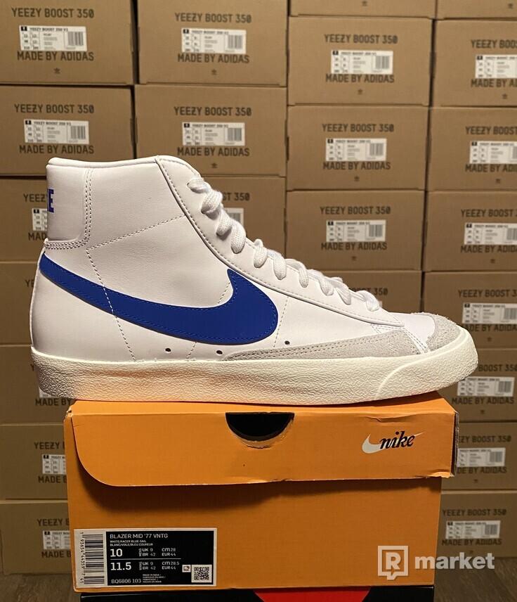 Nike blazer mid OG Blue Swoosh