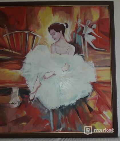 Maľba baletky