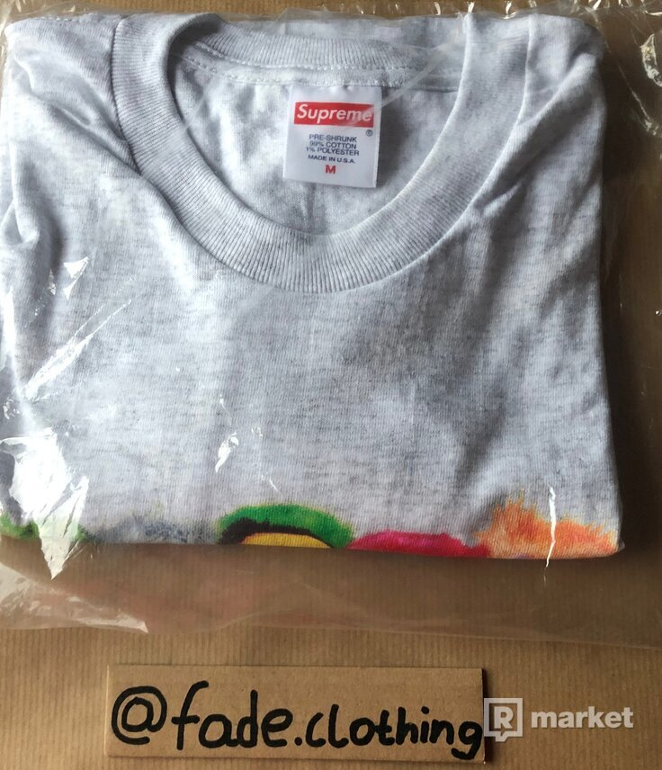 Supreme Pillows Tee (Ash Grey)