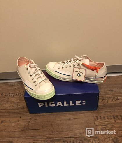 Converse x Pigalle Chuck 70 OX White/Vast