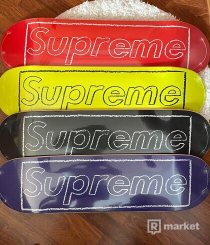 Supreme Kaws Skate Deck