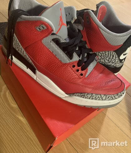 Air Jordan 3 Red Cement