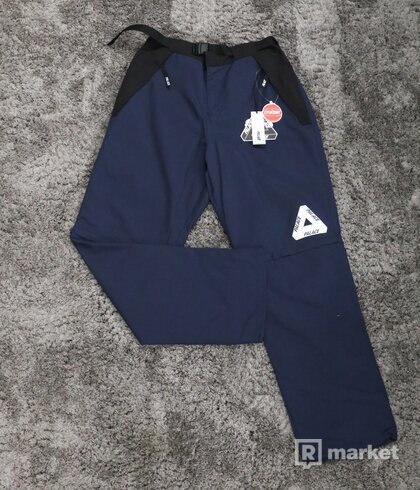 Palace Zip-Off Shell Pants Navy